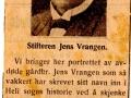 Omtale Jens Vrangen